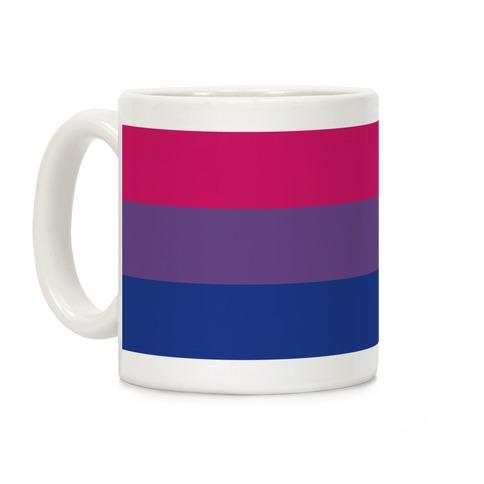 Bi Pride Flag Coffee Mug