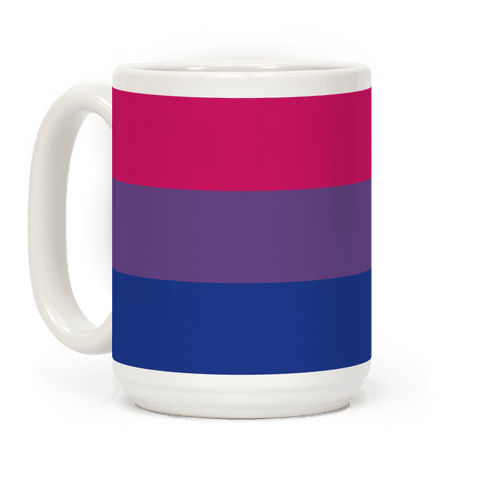 Bi Pride Flag Coffee Mug