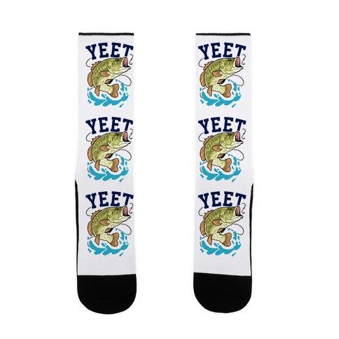 Yeet Bass Fishing Sock