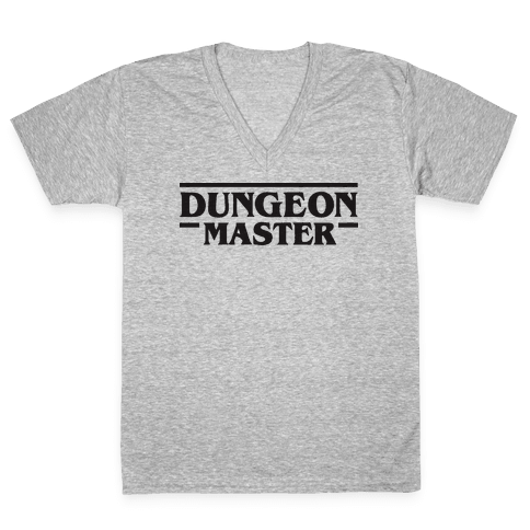 Dungeon Master V-Neck Tee Shirt