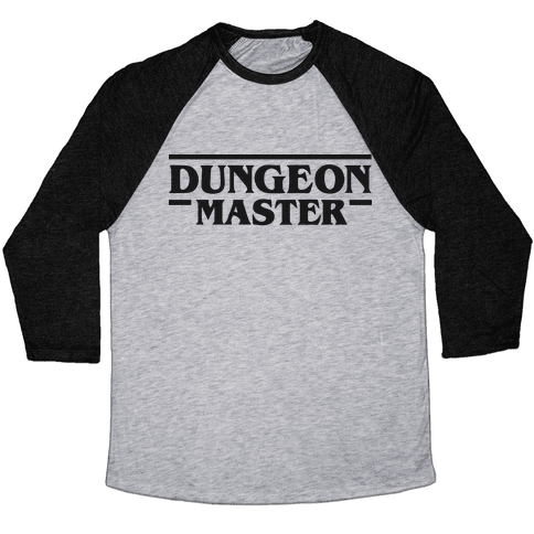 Dungeon Master Baseball Tee