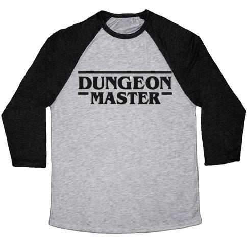 Dungeon Master Baseball Tee