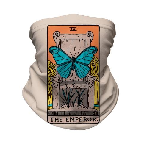 The Emperor Butterfly Tarot Neck Gaiter