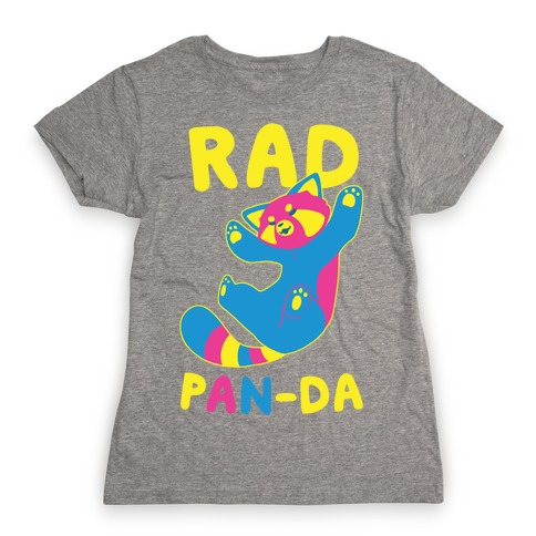 Rad Pan-da Womens T-Shirt