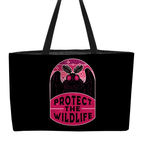 Protect the Wildlife (Mothman) Weekender Tote