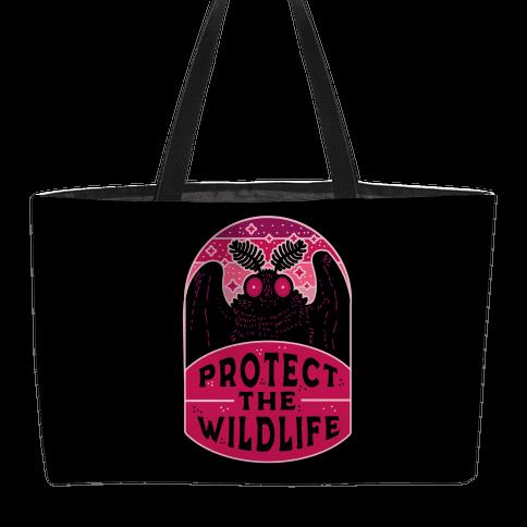 Protect the Wildlife (Mothman) Weekender Tote