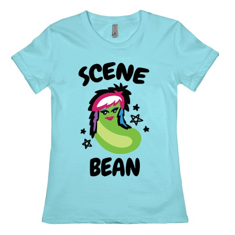 Scene Bean Womens T-Shirt