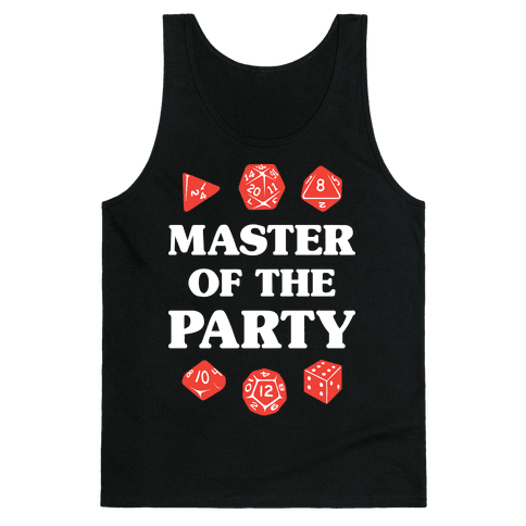 Master of the Party Tank Top