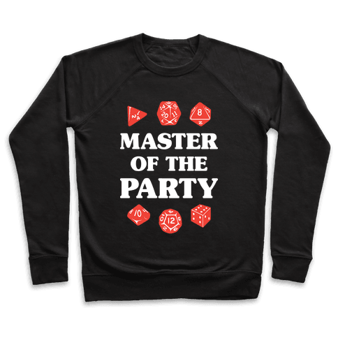 Master of the Party Pullover