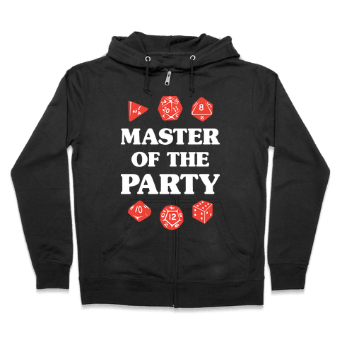 Master of the Party Zip Hoodie