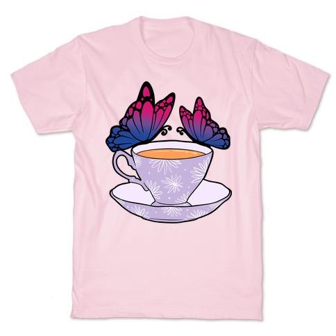 Bi Butterflies &Tea T-Shirt