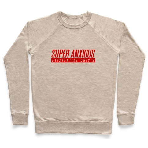 Super Anxious Existential Crisis SNES Parody Pullover