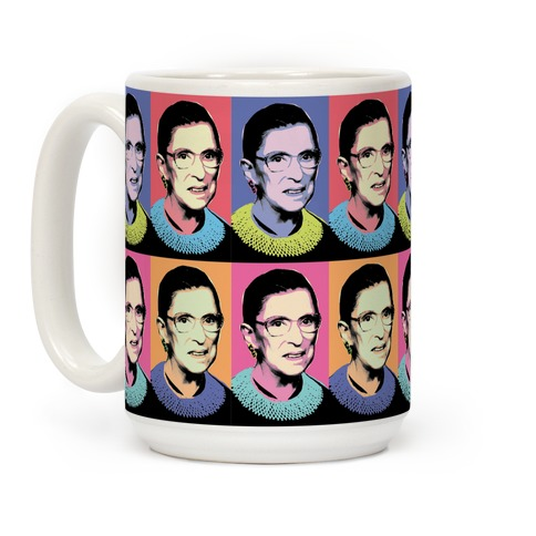 RBG Pop Art Coffee Mug