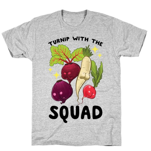 Turnip With The Squad T-Shirt