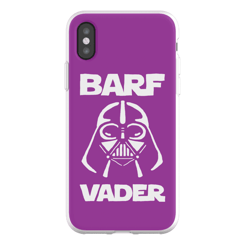 Barf Vader Phone Flexi-Case