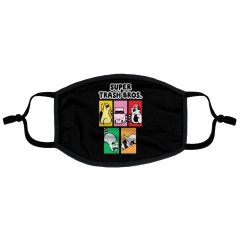 Super Trash Bros. Flat Face Mask