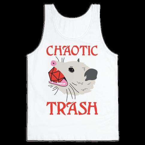 Chaotic Trash (Opossum) Tank Top