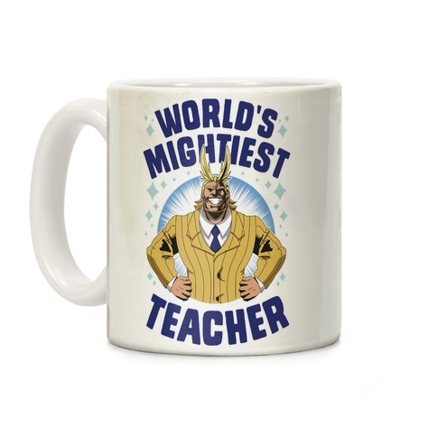 World's Mightiest Teacher Coffee Mug