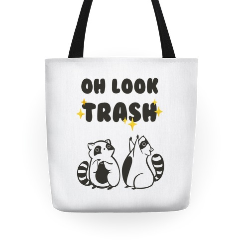 Oh Look Trash Tote