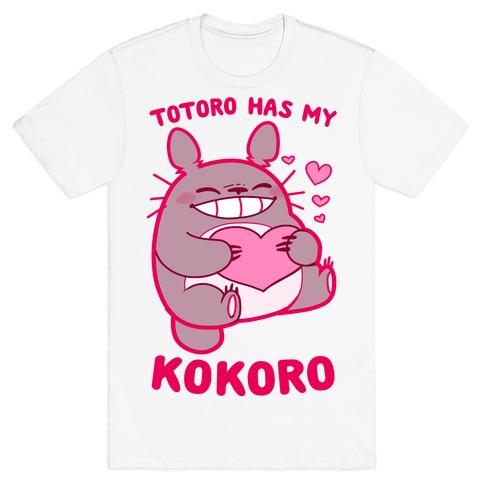 Totoro Has My Kokoro T-Shirt