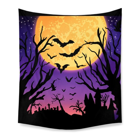 Spooky Nights Tapestry