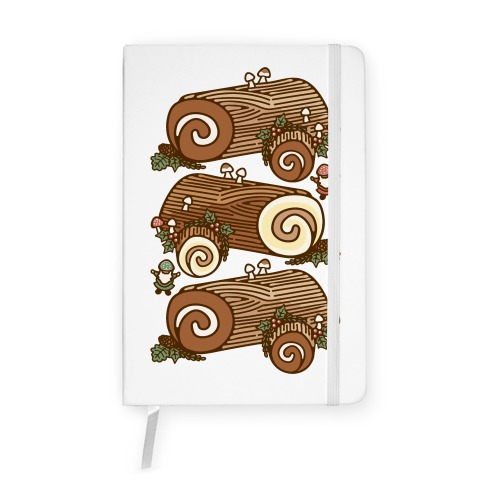 Holiday Yule Logs Notebook