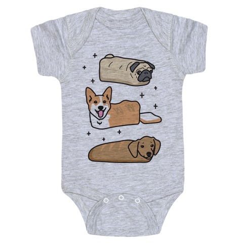 Dog Breads Baby Onesy
