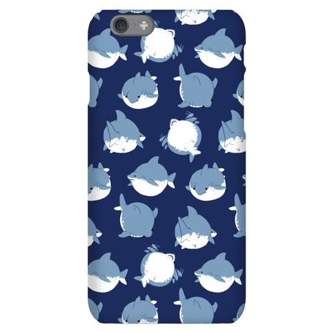 Fat Shark Pattern Phone Case