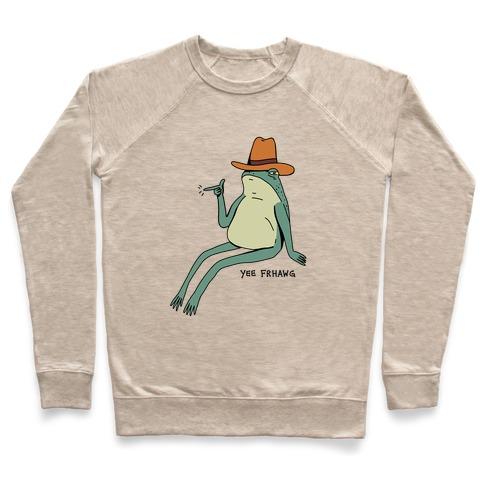 Yee Frhawg Frog Pullover