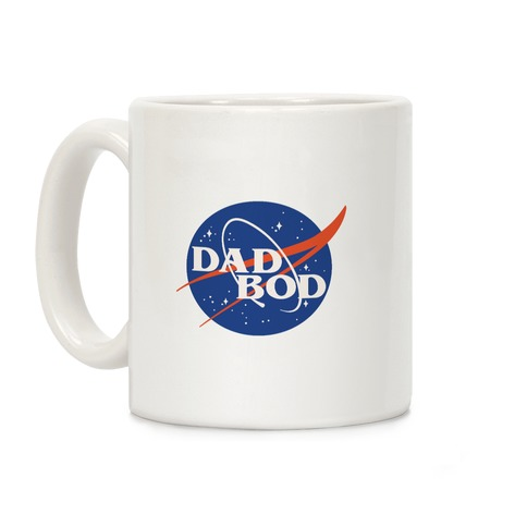 Dad Bod Nasa Parody Coffee Mug