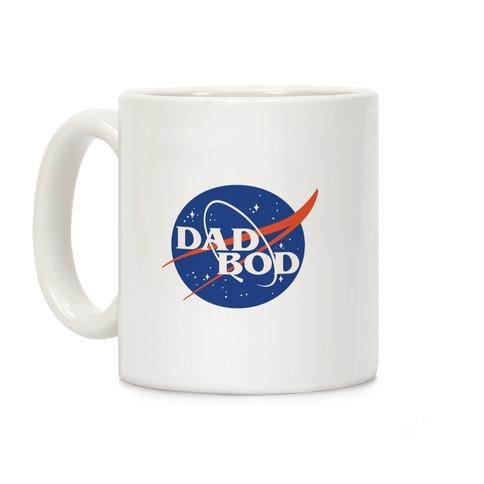 Dad Bod Nasa Parody Coffee Mug