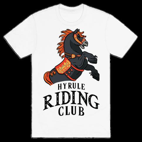 Hyrule Riding Club Mens/Unisex T-Shirt