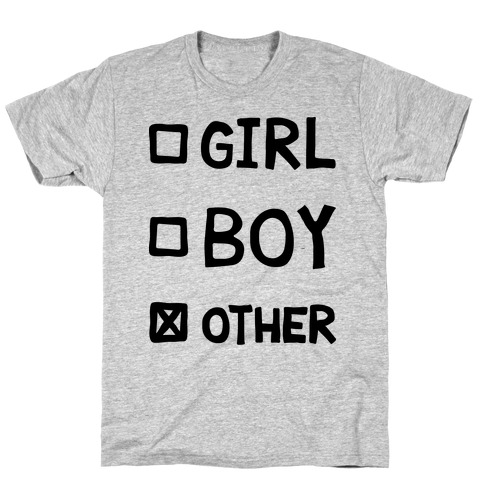Non-Binary Gender Checklist T-Shirt