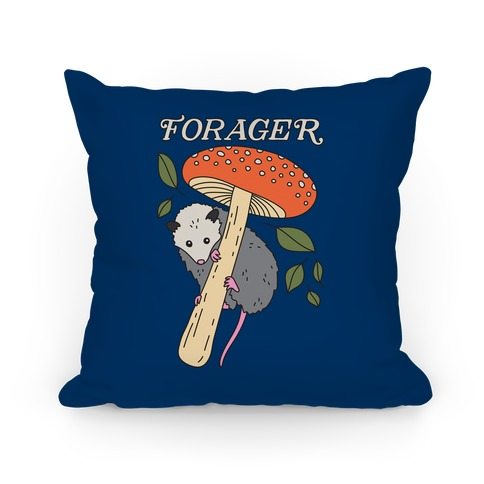 Forager Opossum Pillow