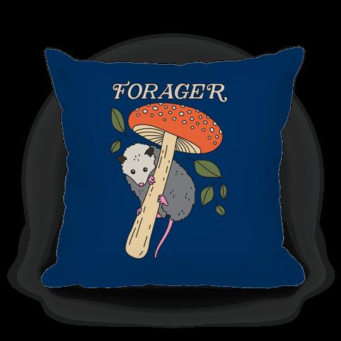 Forager Opossum Pillow