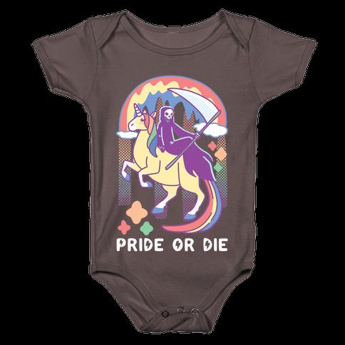 Pride or Die Baby One-Piece