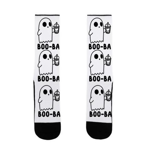 Boo-ba Boba Ghost Sock