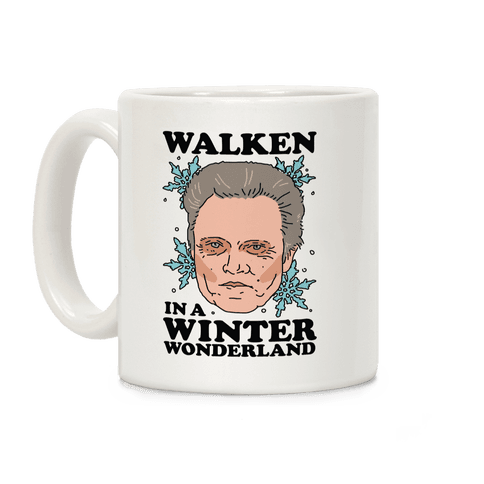 Walken in a Winter Wonderland Coffee Mug