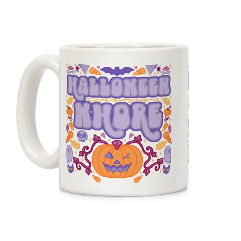 Halloween Whore Coffee Mug