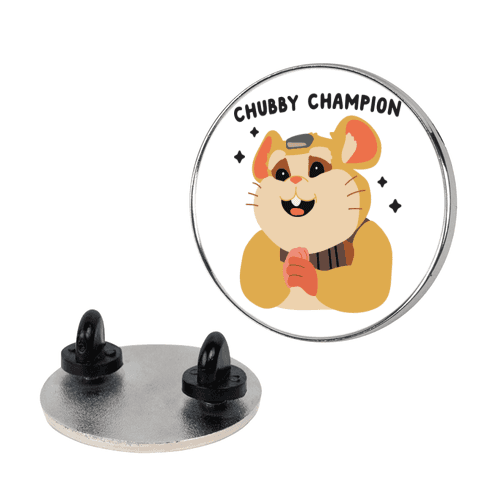 Chubby Champion Hammond pin