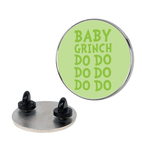 Baby Grinch Baby Shark Parody Pin