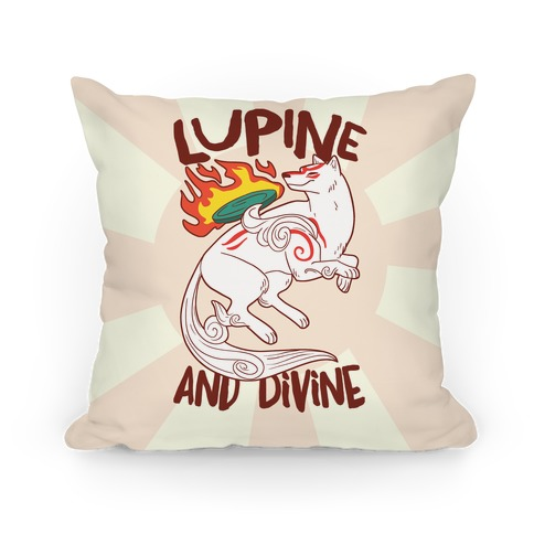 Lupine and Divine  Pillow