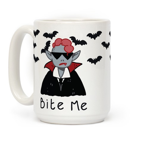 Bite Me Vampire Coffee Mug