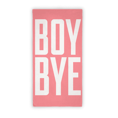 Boy Bye Beach Towel