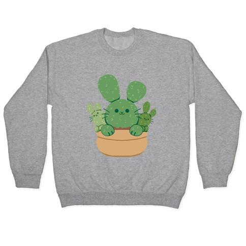 Bunny Ear Cactus Pullover