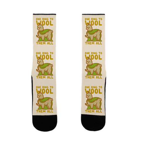 One Ring To Wool Them All Parody Sock