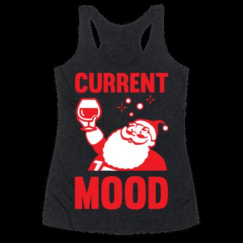 Current Mood Racerback Tank Top
