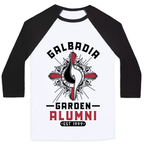 Galbadia Garden Alumni Final Fantasy Parody Baseball Tee