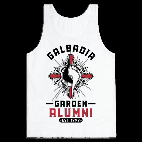 Galbadia Garden Alumni Final Fantasy Parody Tank Top