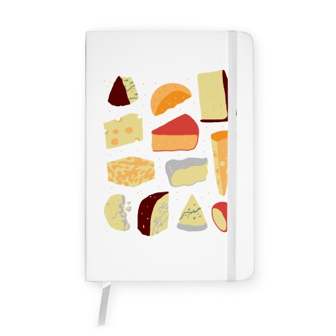 Cheese Pattern Notebook